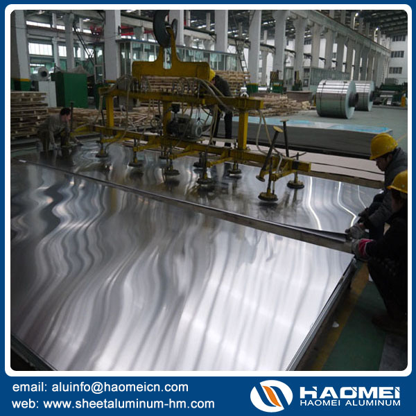 The demanding of aluminum sheet is increasing on the big stuffs