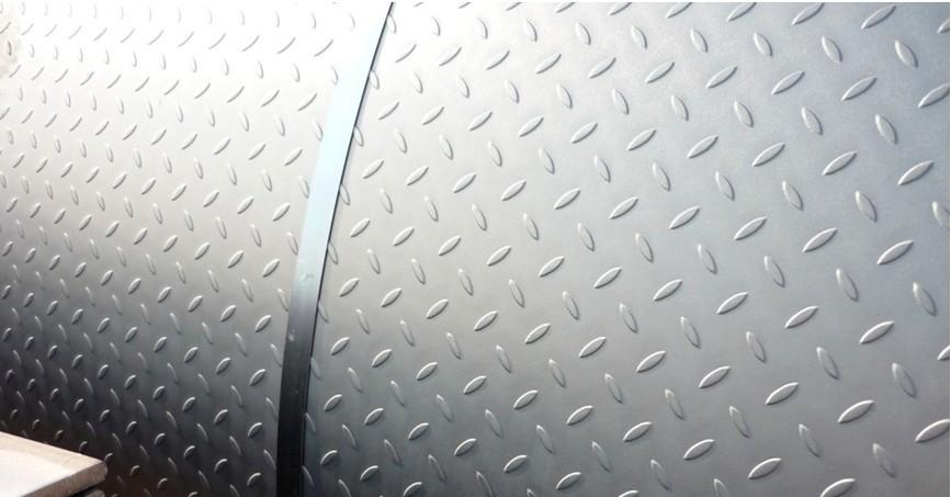 6000 5-bar Aluminum Tread Plate